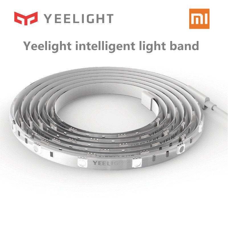 Original Xiaomi Yeelight RGB Intelligent light <font><b>band</b></font> Smart home Phone App wifi light strip Colorful lamb LED 2M 16 Million 60 Led