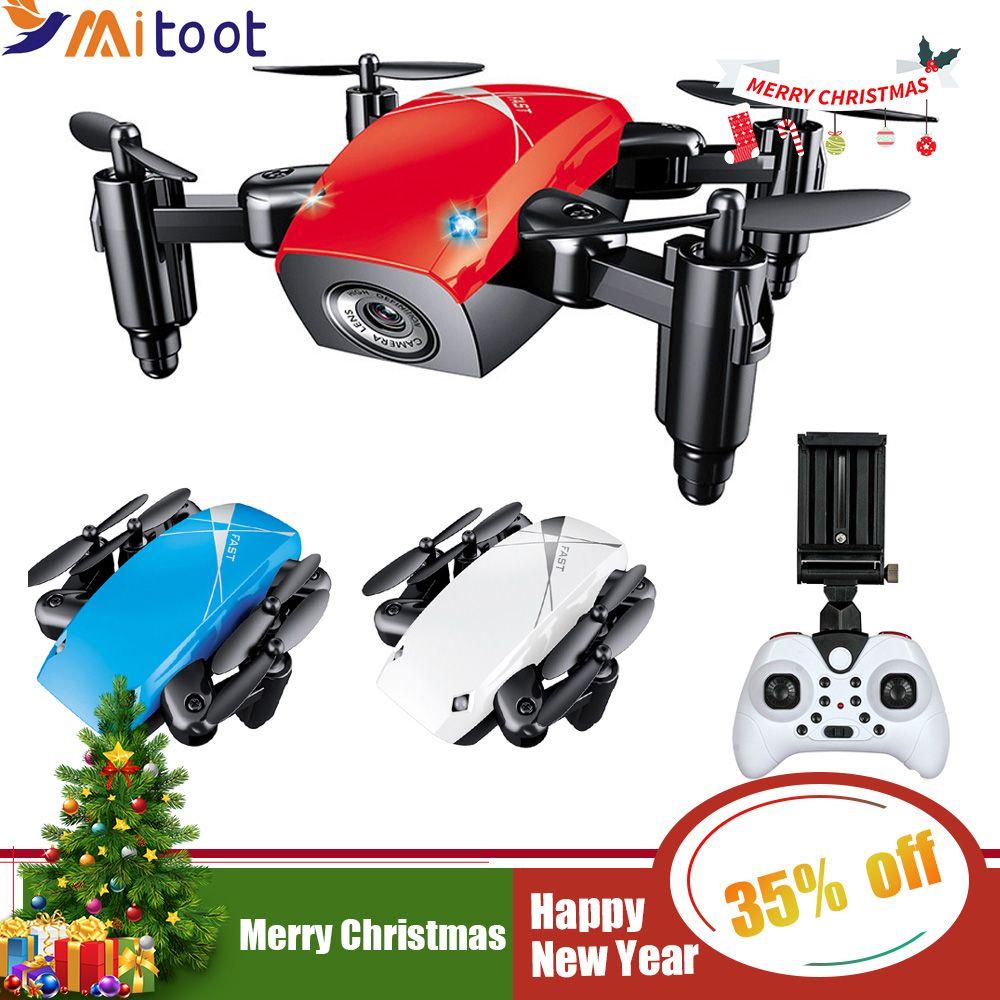 S9HW Mini Drohne Mit Kamera HD S9 Keine Kamera Faltbare RC Quadcopter Höhe Halten Hubschrauber WiFi FPV Micro Tasche Drone flugzeug