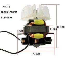1800 W-2100 W gran potencia secador motor monofásico motor serie barbería uso con ventilador
