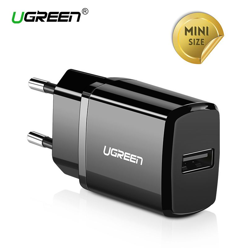 Ugreen 5V 2.1A USB Charger for iPhone X 8 7 iPad Air Fast Wall Charger EU Adapter for SamsungS9 Xiaomi Mobile Phone Charger