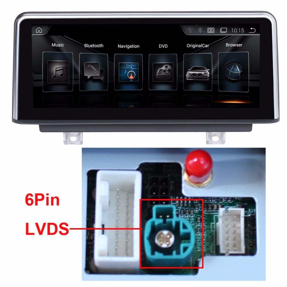 10.25 inch Car Multimedia Player for BMW 3 Series F30/F31/F34/ BMW 4 Series F32/F33/F36 GPS Navigation MP5 Bluetooth Wifi
