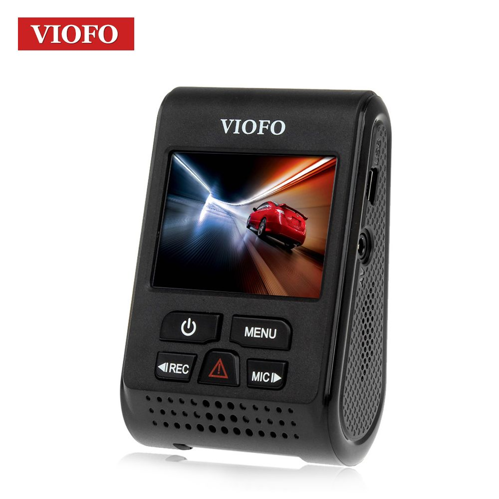 VIOFO Original A119 V2 voiture Dash Cam DVR GPS condensateur Novatek 96660 enregistreur H.264 2 K HD 1440 p voiture Dash caméra DVRs Hardwire