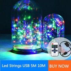 led strings usb light