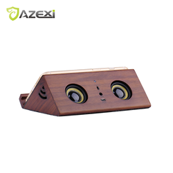Wireless Domestic Wooden Speaker Subwoofer Home Leisure 3.5mm Jack Induction Speaker Suitable for iPhone iPad Smart Phones