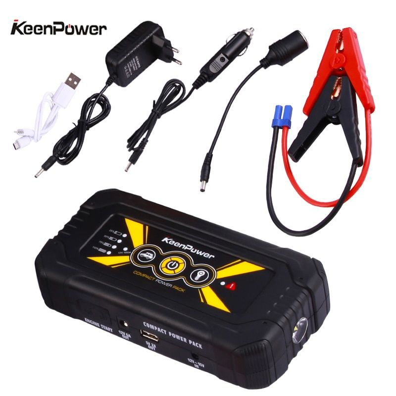 Keenpower Powerbank 12V 600A/900A multifunctional Car Power Battery Booster Buster Car-Stlying Starting Safety Jump Starter