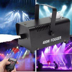 Мини светодио дный LED RGB беспроводной 400 Вт туман дым туман машина Сценический Эффект диско DJ вечерние партии Рождество светодио дный с диста...