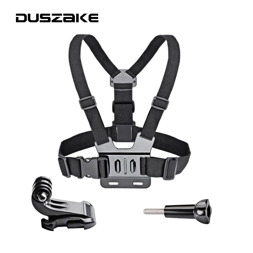 Chest Strap Mount For Gopro hero 6 5 Chest Mount For Xiaomi Yi 4K Chest Harness Belt For Go Pro For SJCAM Action Camera