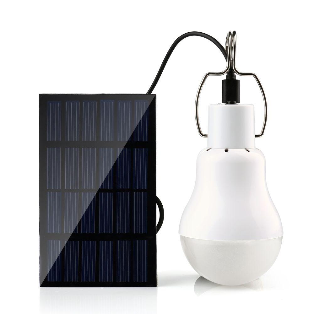 Holigoo 15W 130LM Solar Lamp Portable Led Light Bulb Solar Light Energy Led Lighting Solar Panel Camp Tent Night Fishing Light