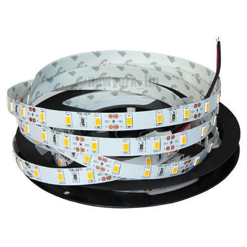 Flexible 5 Mt Nicht Wasserdicht SMD 2835 300 LED Weiß/Warmweiß Led-streifen 12 V DC Power versorgung Mit Connect