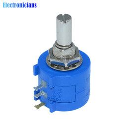 3590S-2-103L 3590S 10K ohm Precision Multiturn Potentiometer 10 Ring Adjustable Resistor