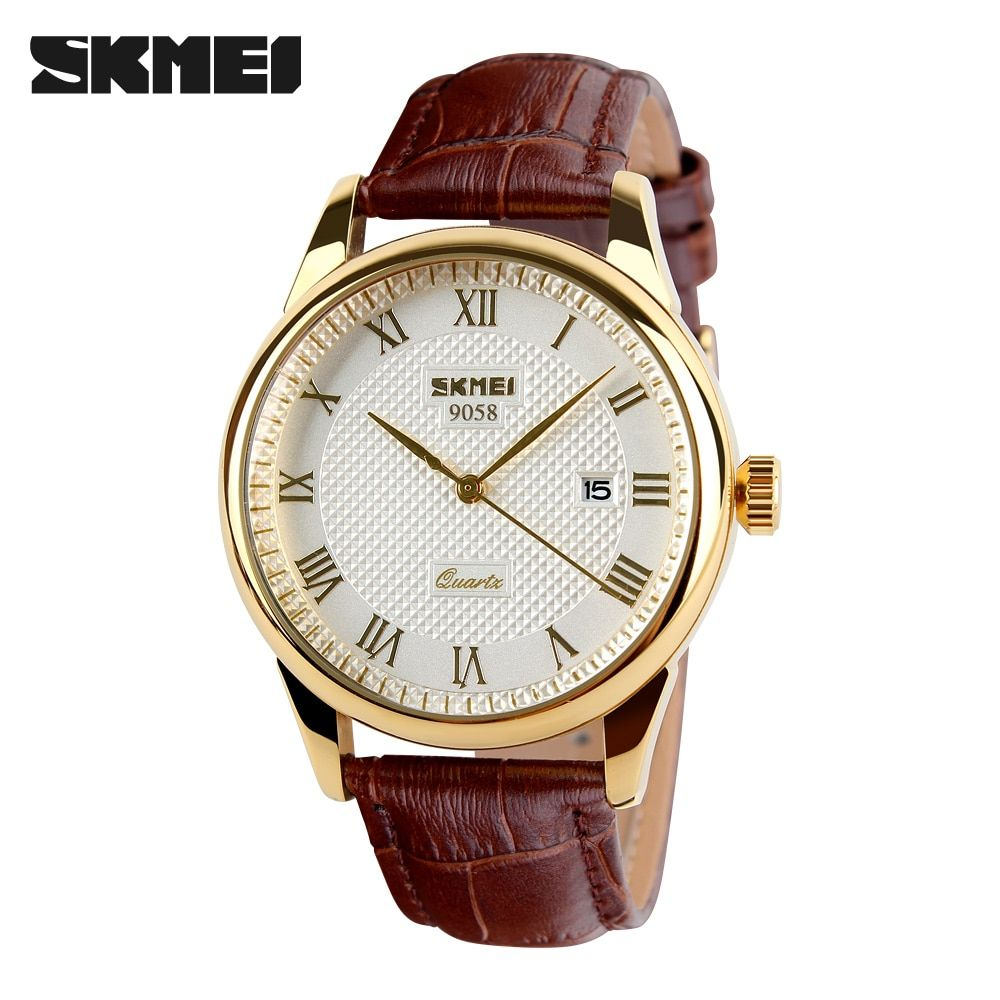 Mens Watches Top Brand Luxury Quartz Watch Skmei Fashion Casual Business Wristwatches Waterproof Male Watch Relogio <font><b>Masculino</b></font>
