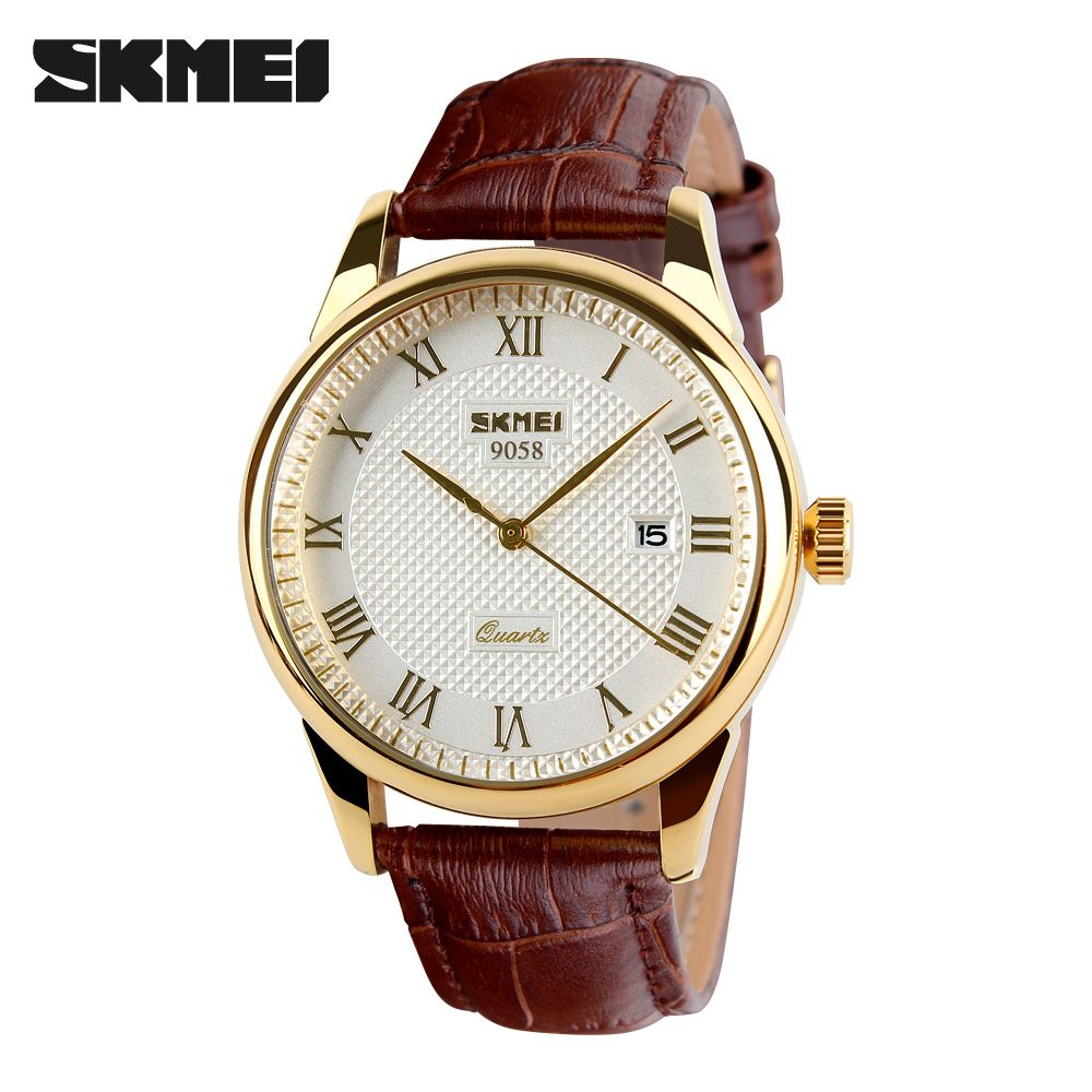 Mens Watches Top Brand Luxury Quartz Watch Skmei Fashion Casual <font><b>Business</b></font> Wristwatches Waterproof Male Watch Relogio Masculino