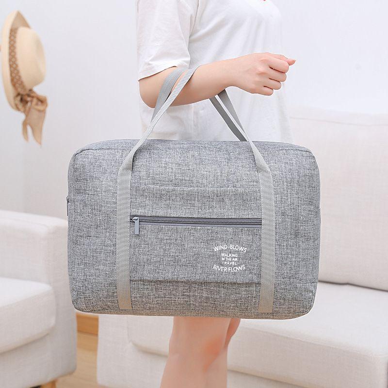 Haute qualité imperméable à l'eau Oxford sacs de voyage femmes hommes grand sac de voyage organisateur de voyage bagages sacs d'emballage Cubes sac de week-end