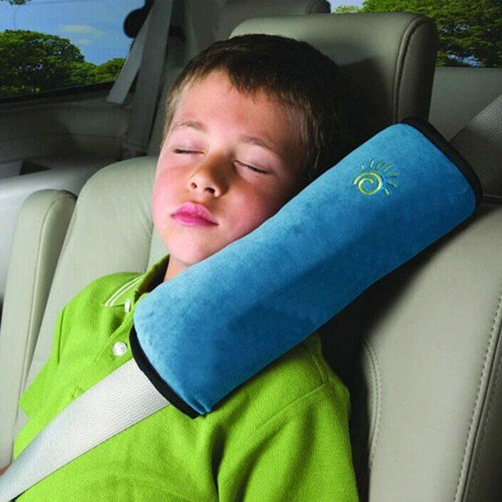 1pc Baby Car Auto Safety Seat Belt Harness Shoulder Pad Cover Children Protection Cover Cushion Support Car Pillow Seat Belts