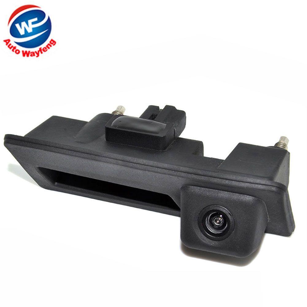 CCD HD étui étanche pour caméra de recul avec poignée de recul pour Audi/VW/Passat/Tiguan/Golf/Touran/Jetta/Sharan/Touareg