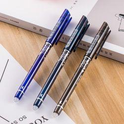 1 pcs Effaçable Stylo Bleu/Noir/Encre Bleu Magique Stylo Fournitures de Bureau D'examen des Étudiants SpareSchool fournitures