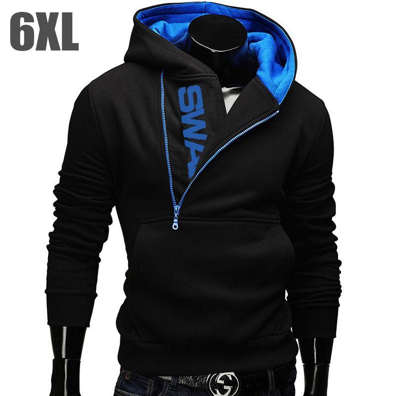 6XL Fashion Brand Hoodies Men Sweatshirt Tracksuit Male Zipper Hooded Jacket Casual Sportswear Moleton Masculino Assassins Creed