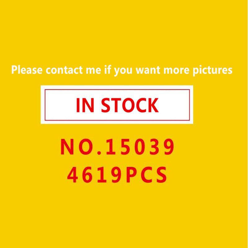 In stock15039 Roller Lustige Modell Coaster Set legoing10261 4619 stücke Gebäude Serie Buidling Blöcke Ziegel Kinder Spielzeug Stadt
