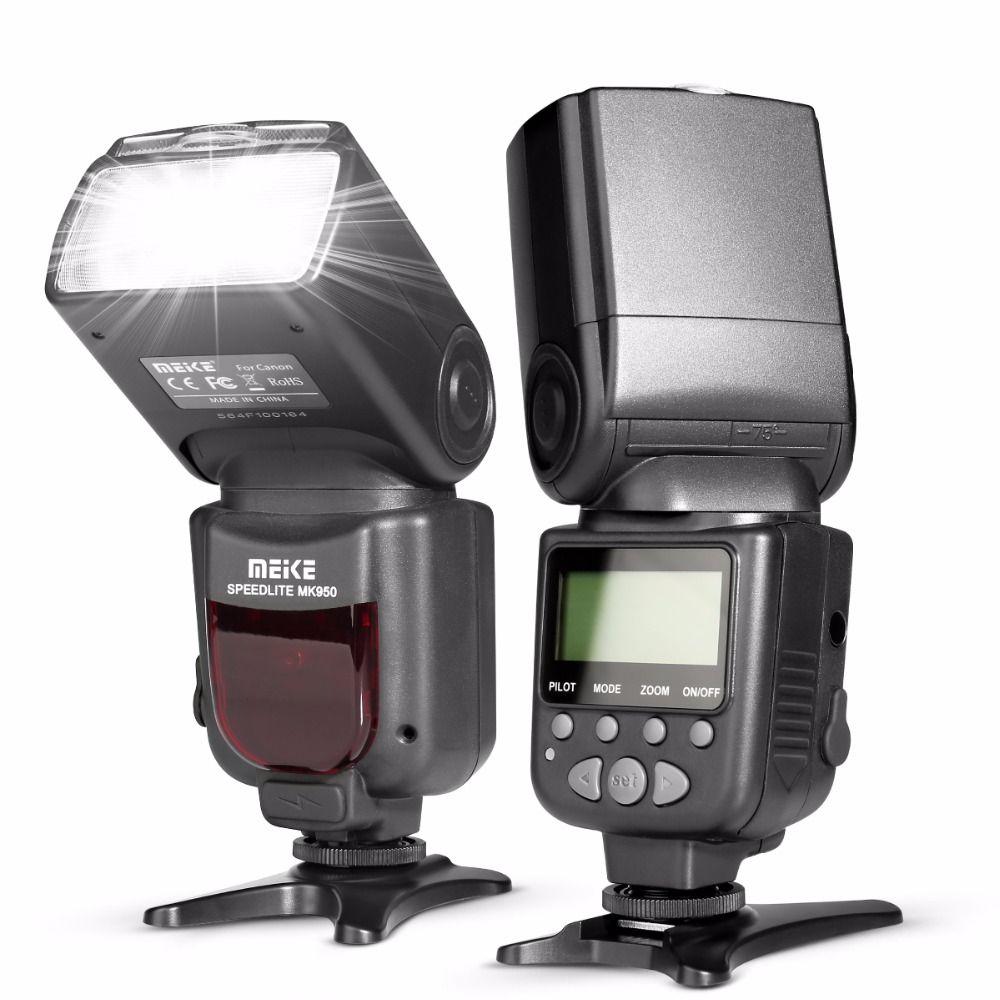 Meike MK950 E-TTL TTL Flash Caméra Flash pour Canon 1300D EOS 5D II 6D 7D 50D 60D 70D 550D 600D 650D 700D 580EX 430EX