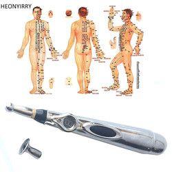 Electronic Acupuncture Pen Electric Meridians Laser Massage Pen Machine Magnet Therapy Meridian Energy Pen Face Lift Tools