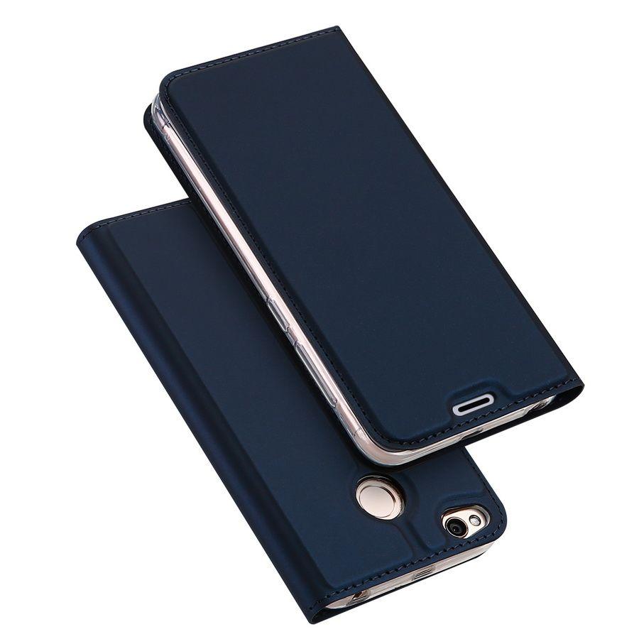 DUX DUCIS Für Xiaomi Redmi 4x Fall Magnetische Pu-leder Flip Standplatz-mappen Abdeckung Für Xiaomi Redmi 4x Einbauschlitz Handy fällen