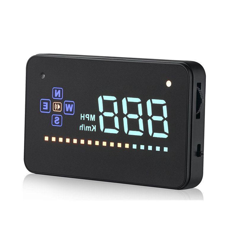 Vancago A2 3.5 Screen Auto Vehicle GPS HUD Car Head Up Display Speedometers Overspeed Warning Dashboard Windshiled Projector