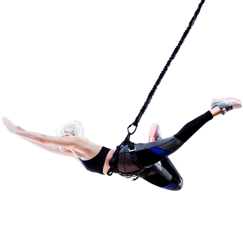 Bungee Dance Resistance Bands Fitness Aerial Yoga Cord Pilates Elastic Suspension Sling Anti-gravity Yoga Trainer Pull Rope