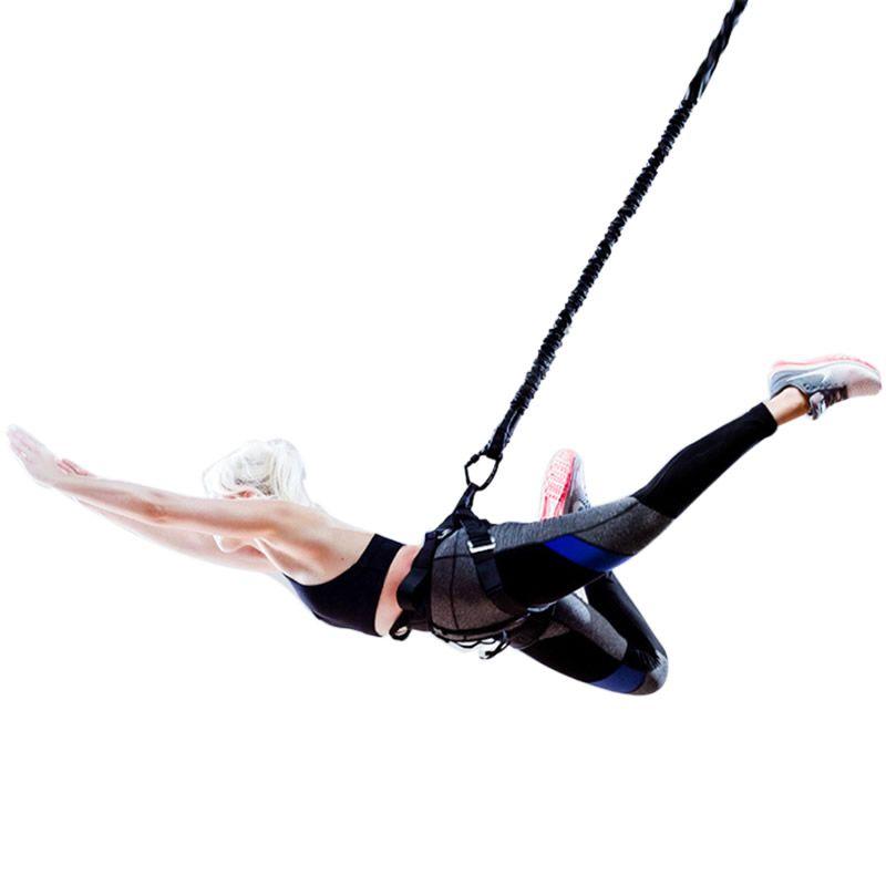 Bungee Dance Widerstand Bands Fitness Aerial Yoga Schnur Pilates Elastische Aufhängung Schlinge Anti-gravity Yoga Trainer Pull Seil