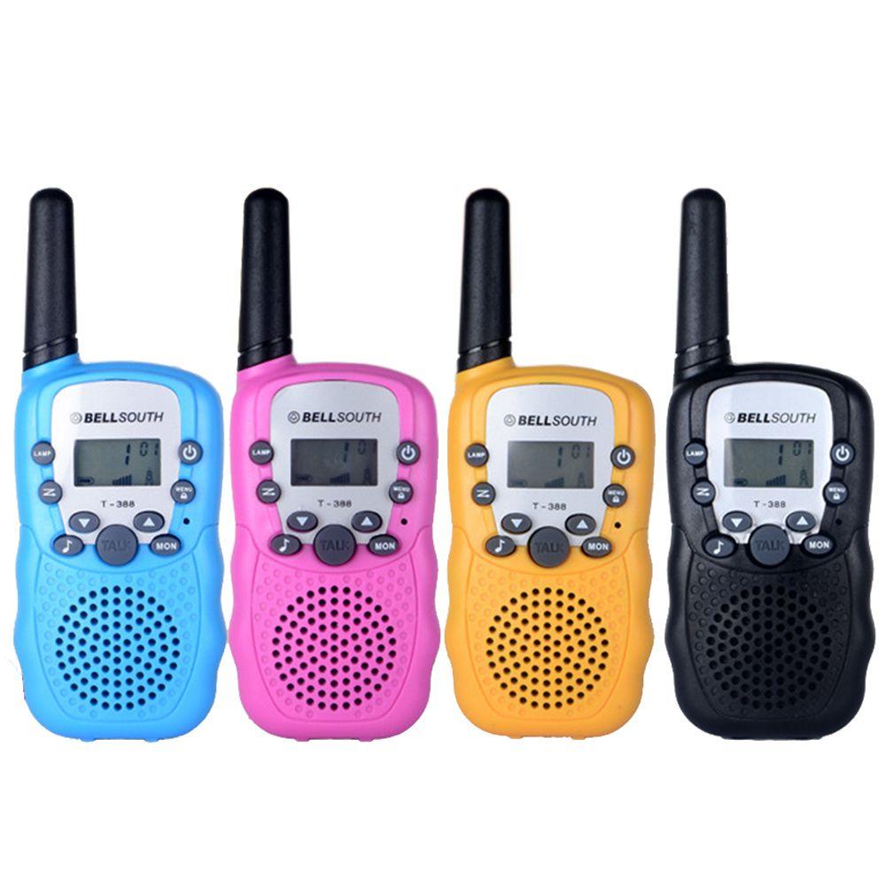 Up to 2KM Talk Range 2PCS/pair Kids Toy Walkie Talkies for Children Interactive Funny Radio Communicator