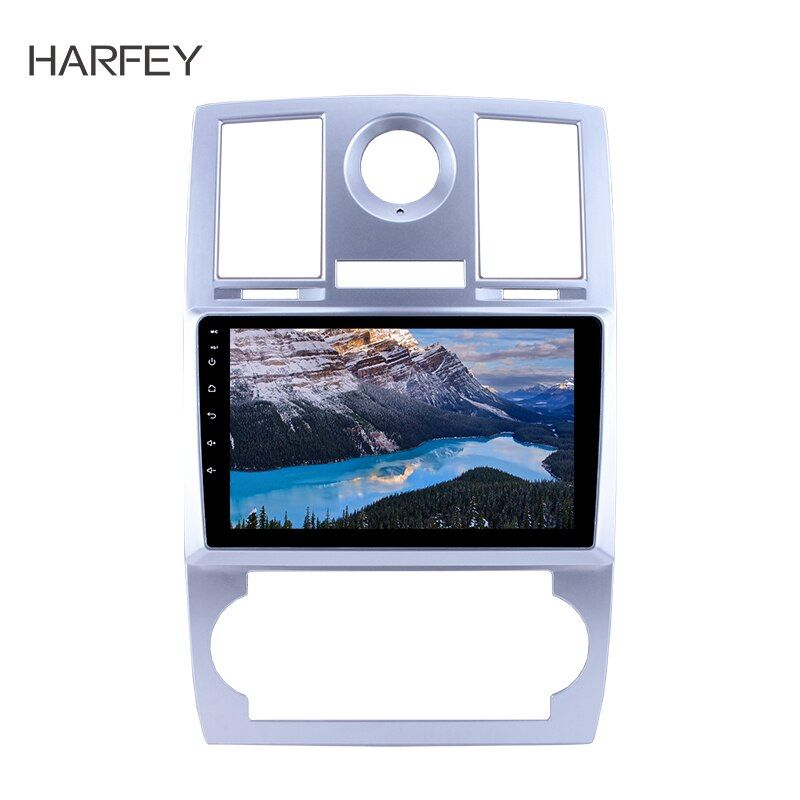 Harfey 1Din Android 9.0 Multimedia Player 9 Auto Radio Für Chrysler Aspen 300C 2004 2005 2006 2007 2008 Wifi Kopf einheit