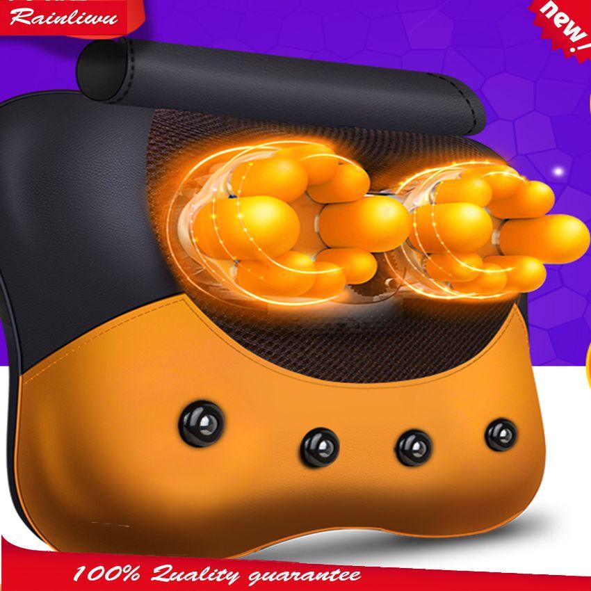 5D De Massage oreiller vertèbre Cervicale instrument de massage Cou taille dispositif de massage du dos 5D tête de massage soins de santé maître