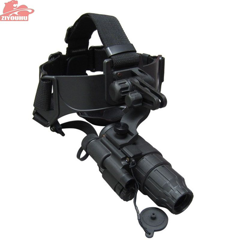 ZIYOUHU PULSAR 1X20 G1+ single-tube helmet type infrared night vision device hunting Free shipping