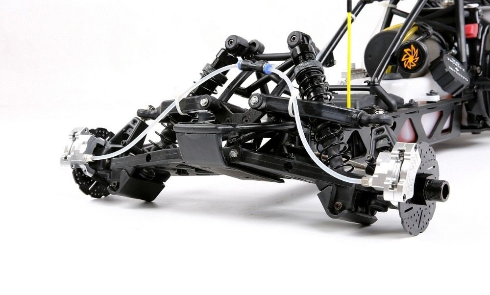 1/5 rc car Baja part, Front Hydraulic brake system for 1/5 scale hpi baja 5b king motor truck