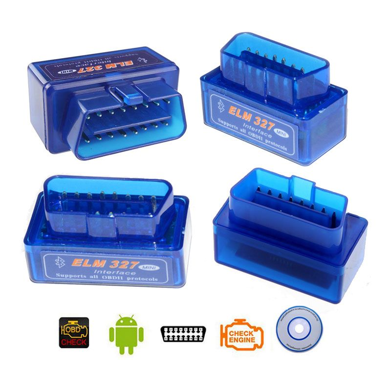 ELM 327 OBD2 V1.5  Car Driving Recorder DTC OBD Master On-Board Diagnostic OBD II ransmit Car Data to your Andorid phone PC