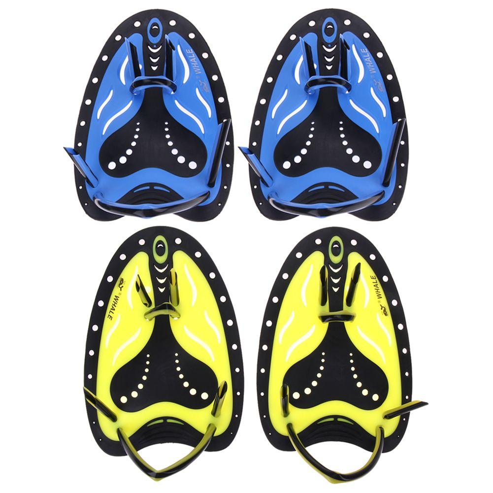 Professionelle Schwimmen Paddel Ausbildung Einstellbare Silikon Hand Webbed Handschuhe Padel Flossen Für Männer Frauen Kinder Lernen Getriebe