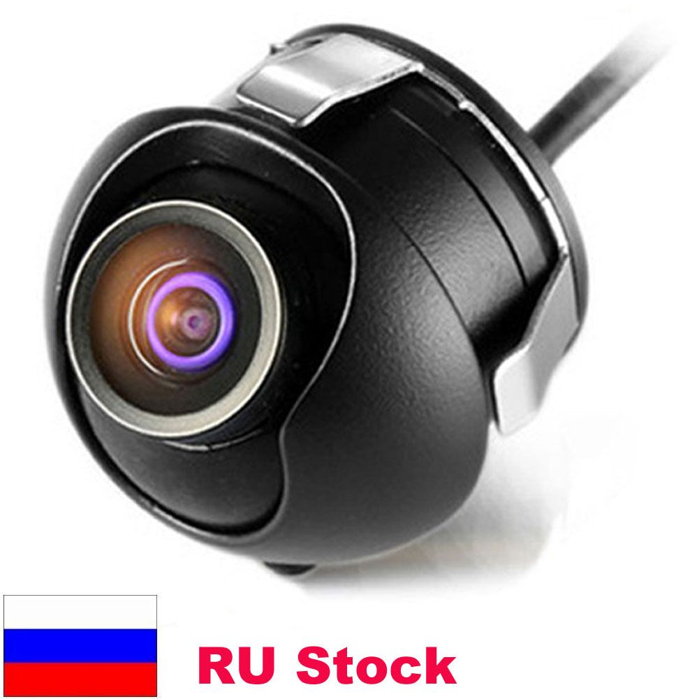 Usine Promotion CCD HD vision nocturne 360 degrés pour voiture vue arrière caméra avant vue de face côté inversion caméra de recul
