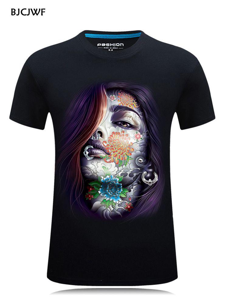 2019 ventes mondiales nouvelle marque de mode T Shirt 3D imprimé t-shirts hommes été hauts et t-shirts Hip Hop homme t-shirt grande taille S-6XL