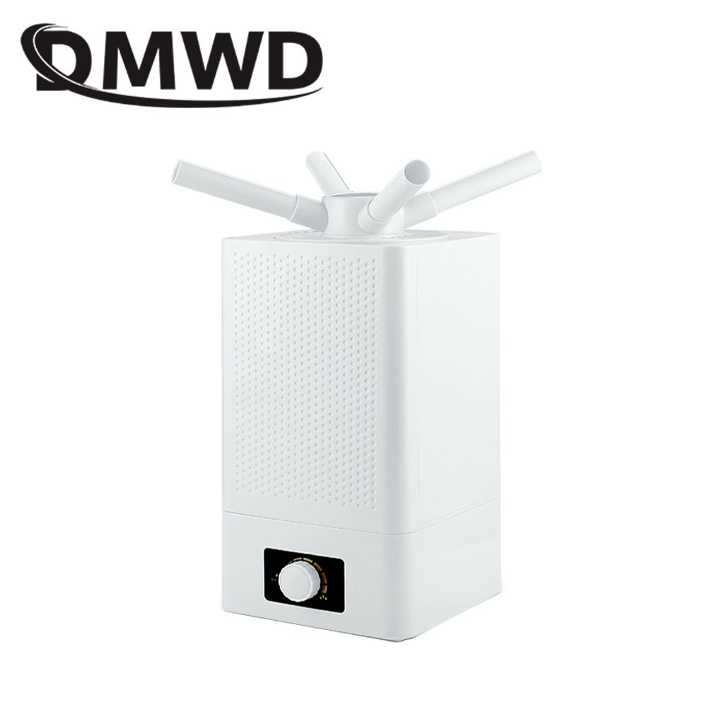 DMWD Industrial Air Ultrasonic humidifier Mute Commercial Supermarket Vegetables Mist Maker 11L Fogger Spray Anion Humidifiers