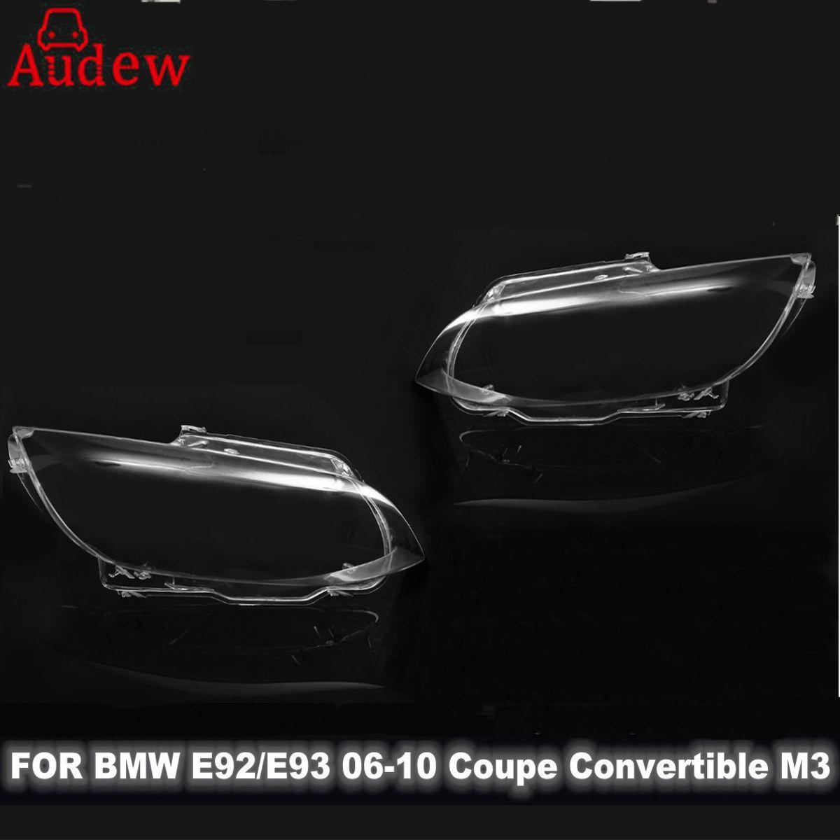 1 шт. фары автомобиля фары крышка объектива влево/вправо для BMW E92 E93 купе M3 06-10