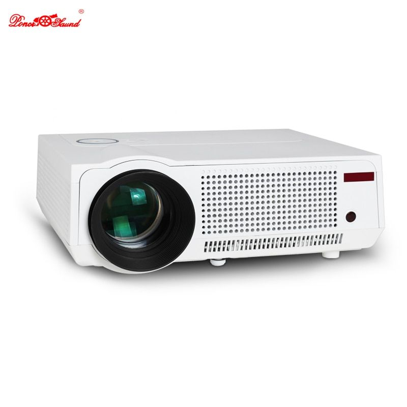 Poner Saund 5500 lumens 3D led projector support 1080P Full HD video projetor home Theater USB theater lcd cinema proyectores