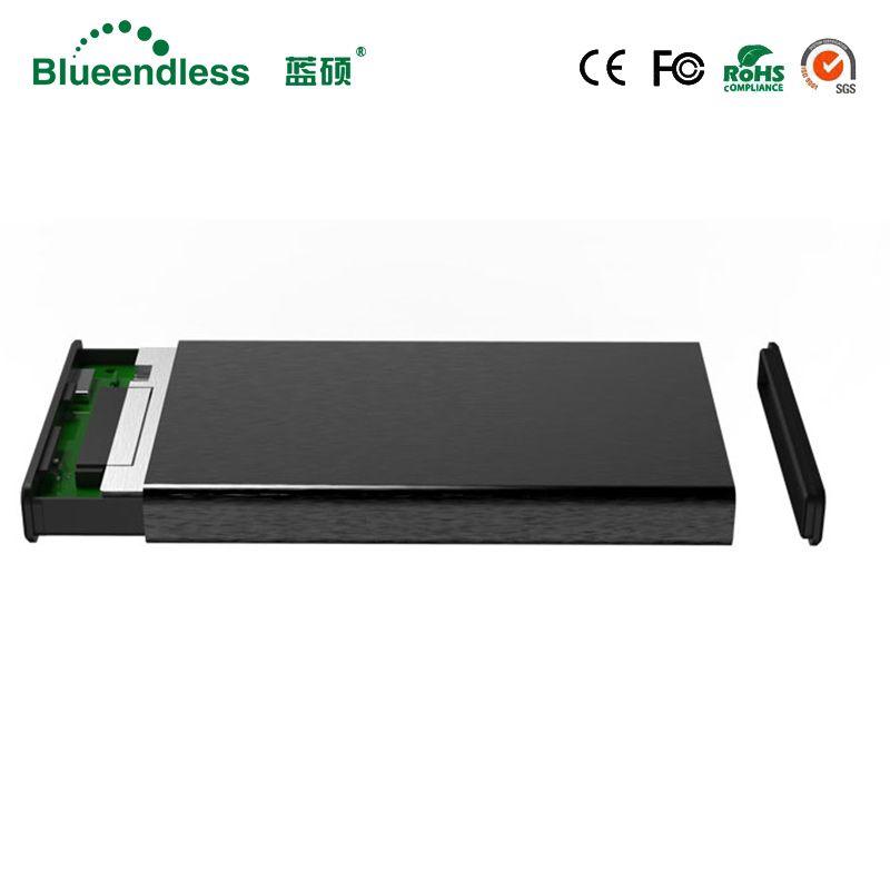 6Gbps 2.5 hdd sata usb 3.0 aluminum hdd caddy hdd 2.5 box top sale sata hard disk case high quality enclosure for hard drive 1tb