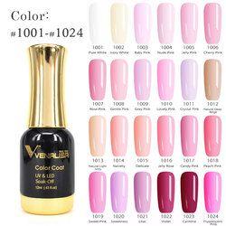 #60751 Venalisa Longue Dernières Soak Off Étoilé Gel UV LED Glitter Laque Polonais Manucure 120 Couleur Super brillant Gel Nail polit