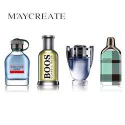 MayCreate 1 Set 4 Pcs Hommes Parfum Parfum Durable Mini Bouteille Portable De Parfum Pour Hommes Mâle VS Femmes Parfum Femme parfum