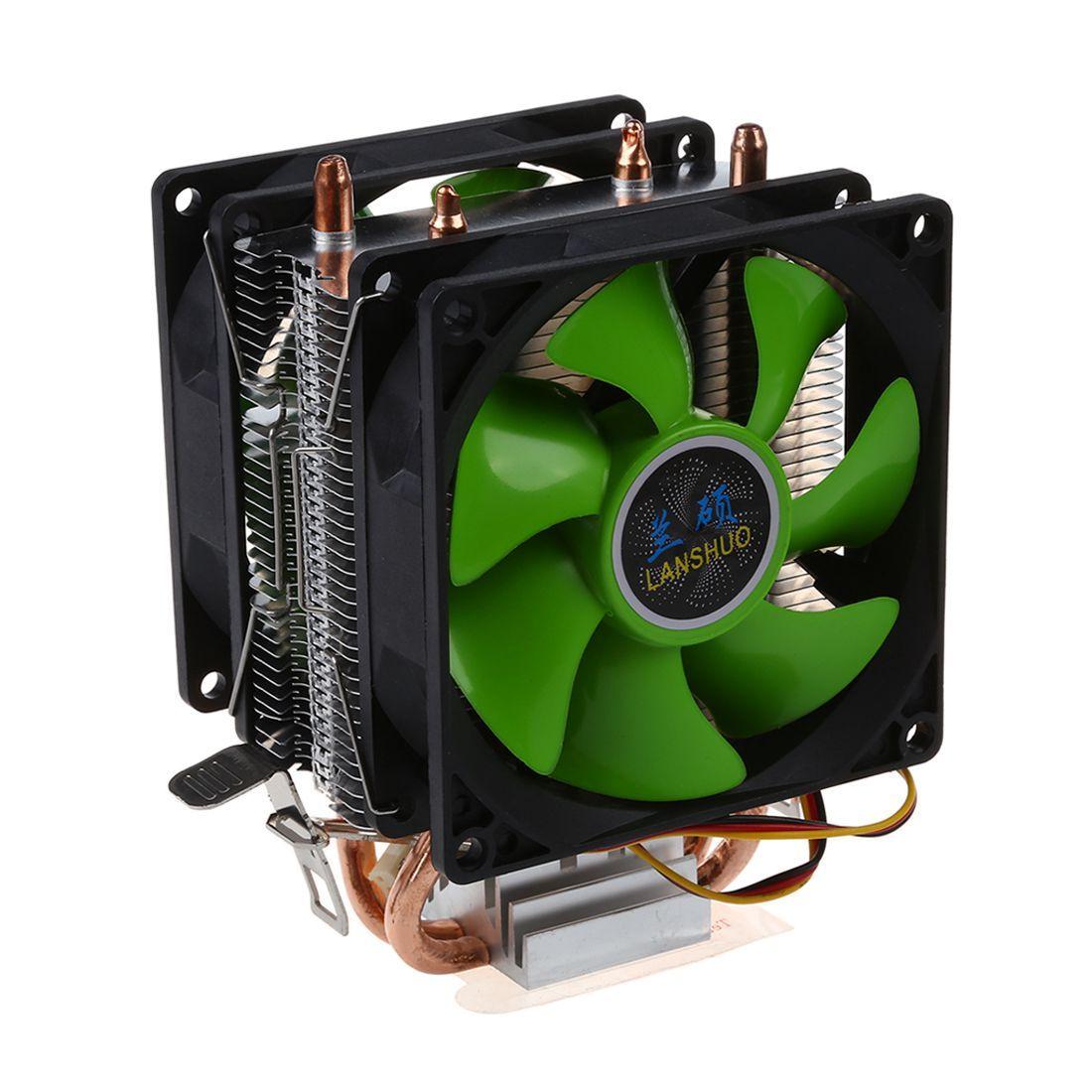 CPU kühler Silent Fan Für Intel LGA775/1156/1155 AMD AM2/AM2 +/AM3