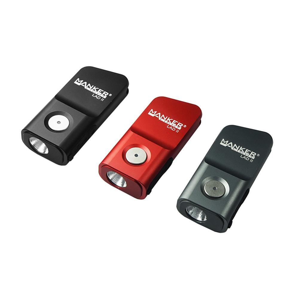 MANKER LAD II 300 Lumen USB Rechargeable porte-clés lampe de poche CREE XPG3/haut CRI Nichia 219C LED poche EDC Mini lampe de poche