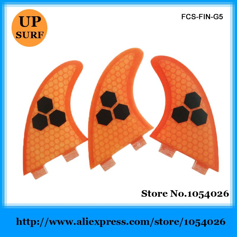 Free Shipping FCS Honeycomb Fins Good Quality FCS Fins G5 Size Surf Fins FCS Quilhas