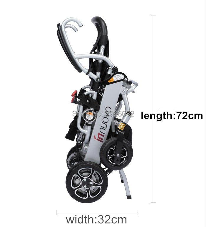 Hochwertige leichte, tragbare elektrische rollstuhl für behinderte