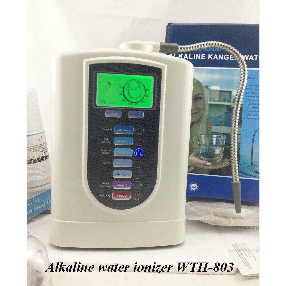 Hot!! Hohe Qualität Beste Preis Wasser Ionisatoren mit 3-stufen pre-filter, Freies Verschiffen nach Brasilien durch EMS.