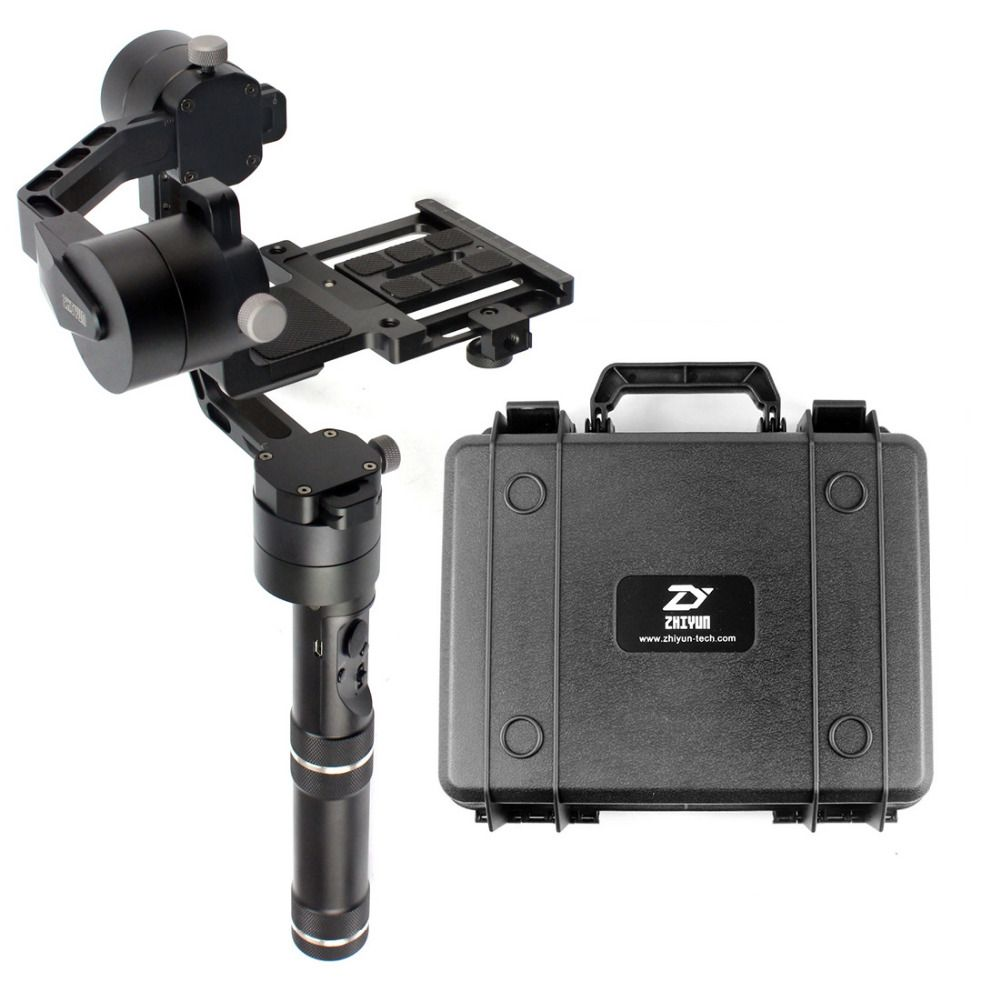 F18164 Zhiyun Crane V2 3 axle Handheld Stabilizer 3-axle gimbal for DSLR Canon Cameras Support 1.8KG with suitcase