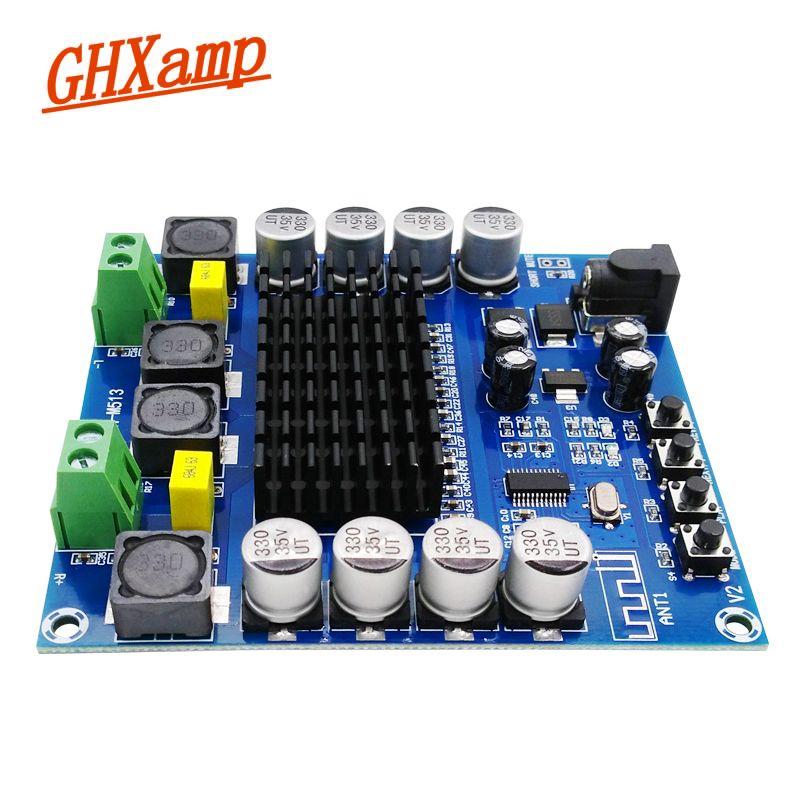 GHXAMP NEW TDA7498 Bluetooth Audio Amplifier Board 100WX2 Digital MP3 Home Theater AMP Bluetooth Speaker DIY DC12-24V 10 Meter
